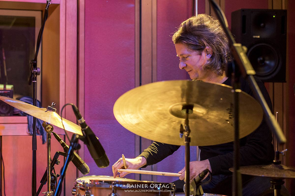 Anke Helfrich im SWR Studio Tübingen 2020