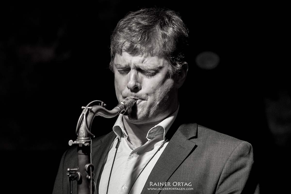 Eric Alexander (Eric Alexander-Vincent Herring Quintet) im Jazzland Wien 2012 und im Jazzkeller Esslingen 2015