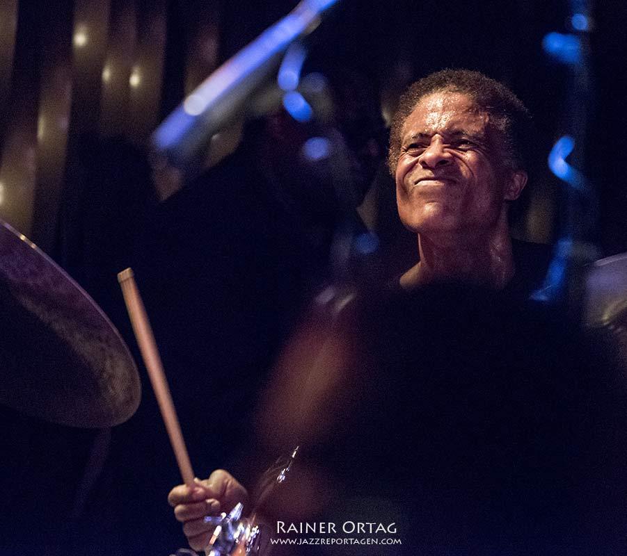 Eric Allen (Wallace Roney Quintet) im Bix Stuttgart 2018