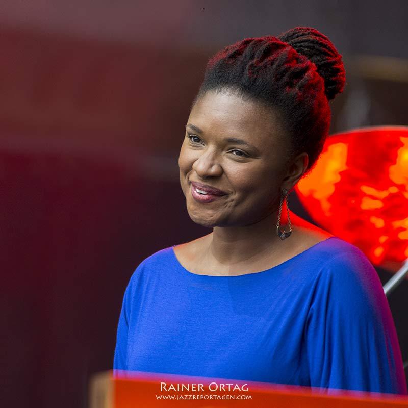 Lizz Wright bei der jazzopen Stuttgart 2016