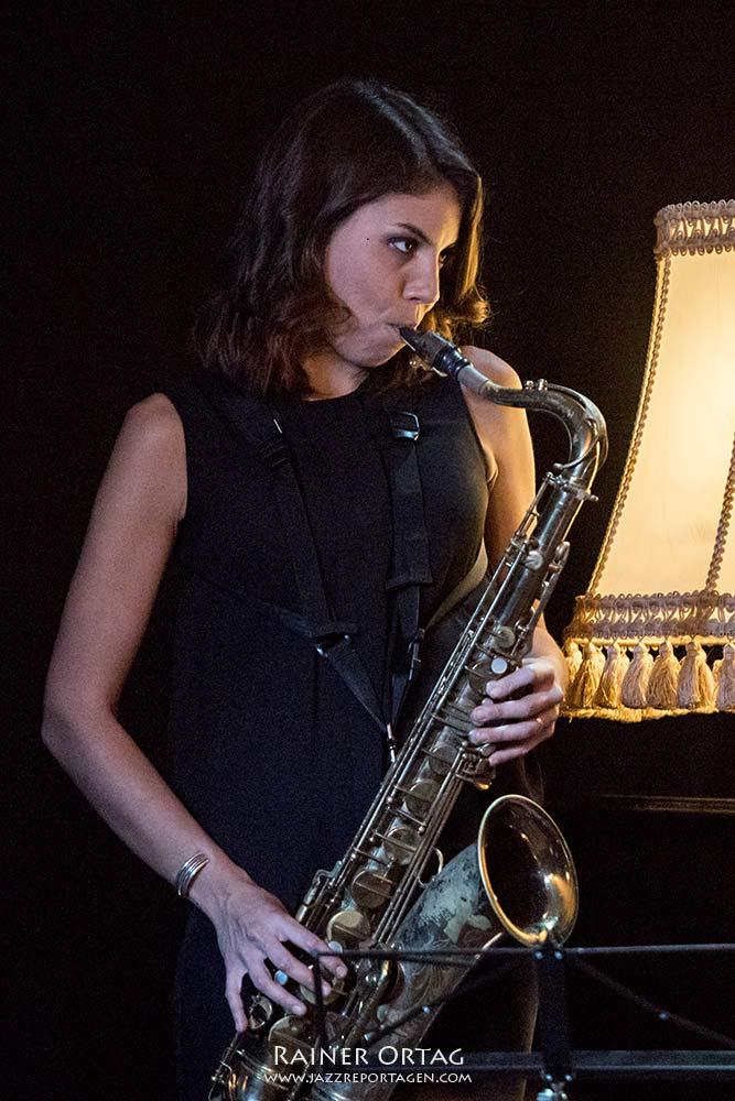 Melissa Aldana im Pappelgarten Reutlingen 2018