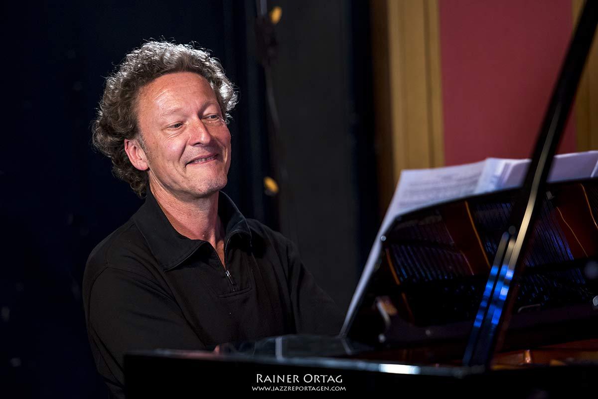 Ull Möck mit dem Axel Kühn Trio im SWR Studio Tübingen