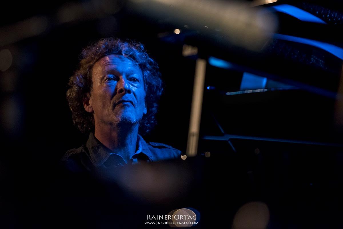 Ull Möck mit dem Peter Lehel Quartet im Jazzclub Bix Stuttgart