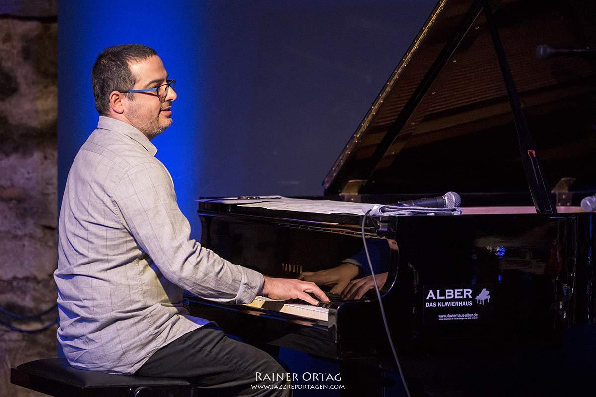 Yonathan Avishai im Jazzkeller Esslingen 2017