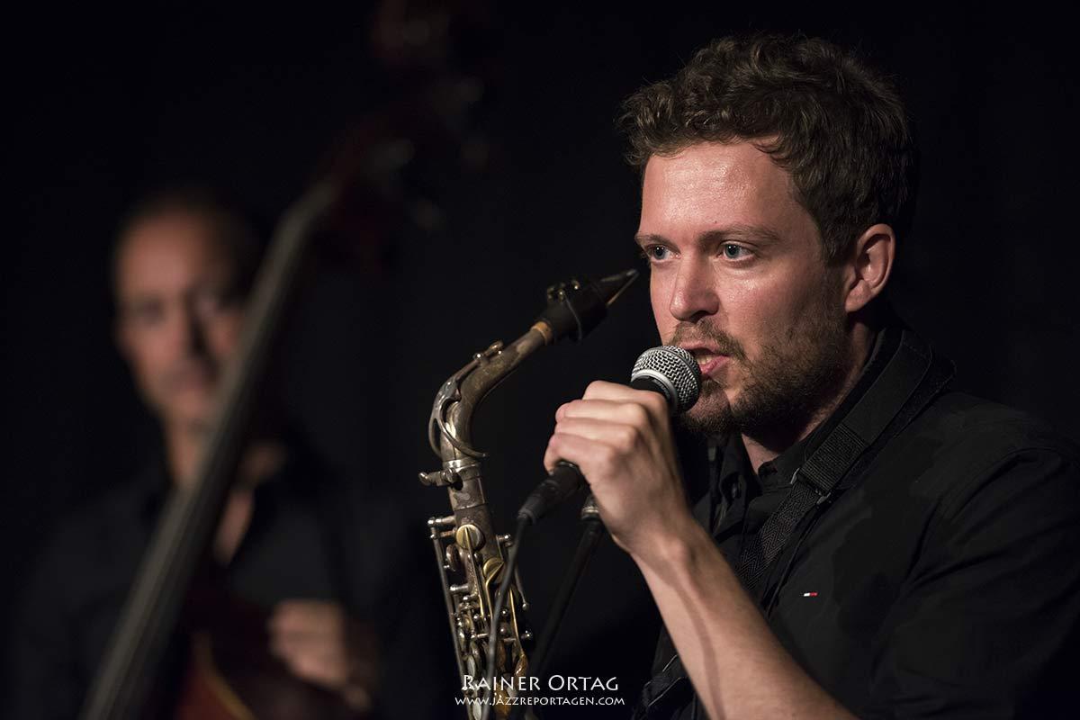 Livestream-Konzert Joachim Staudt 4tet im Club Voltaire Tübingen