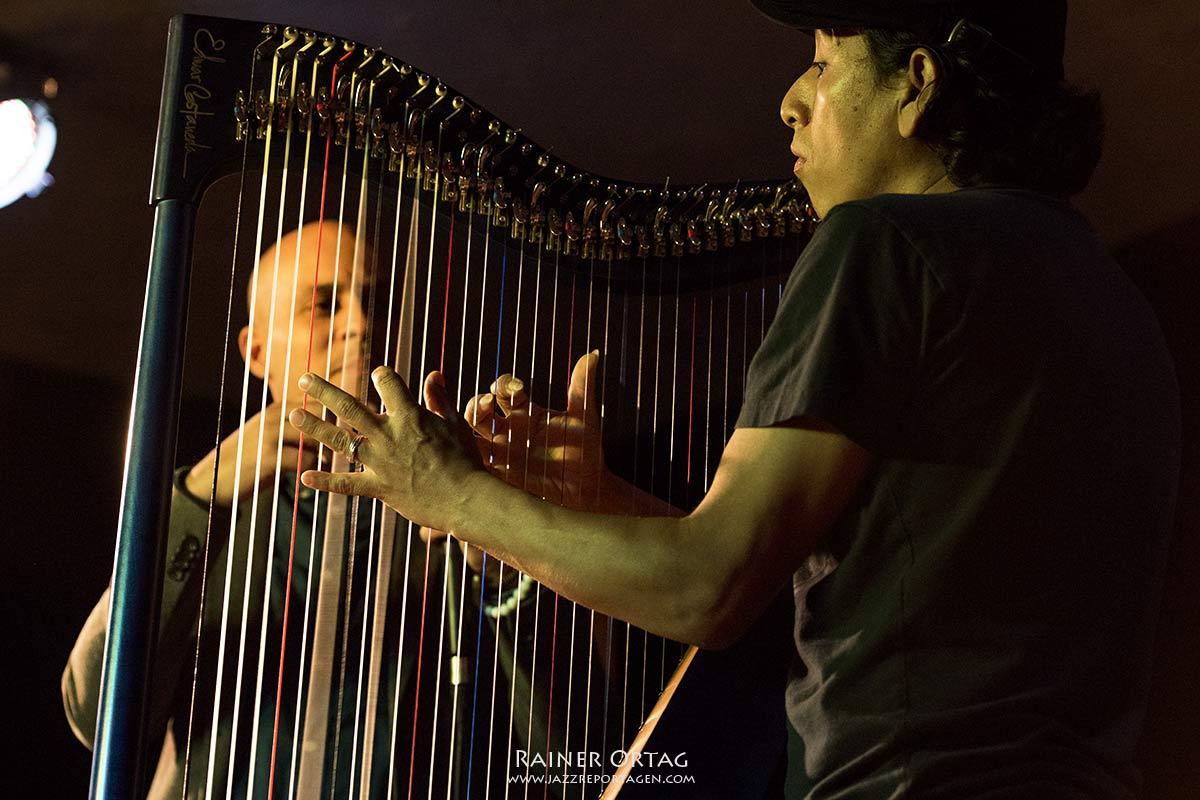 Maret Castañeda Duo im Pappelgarten Reutlingen