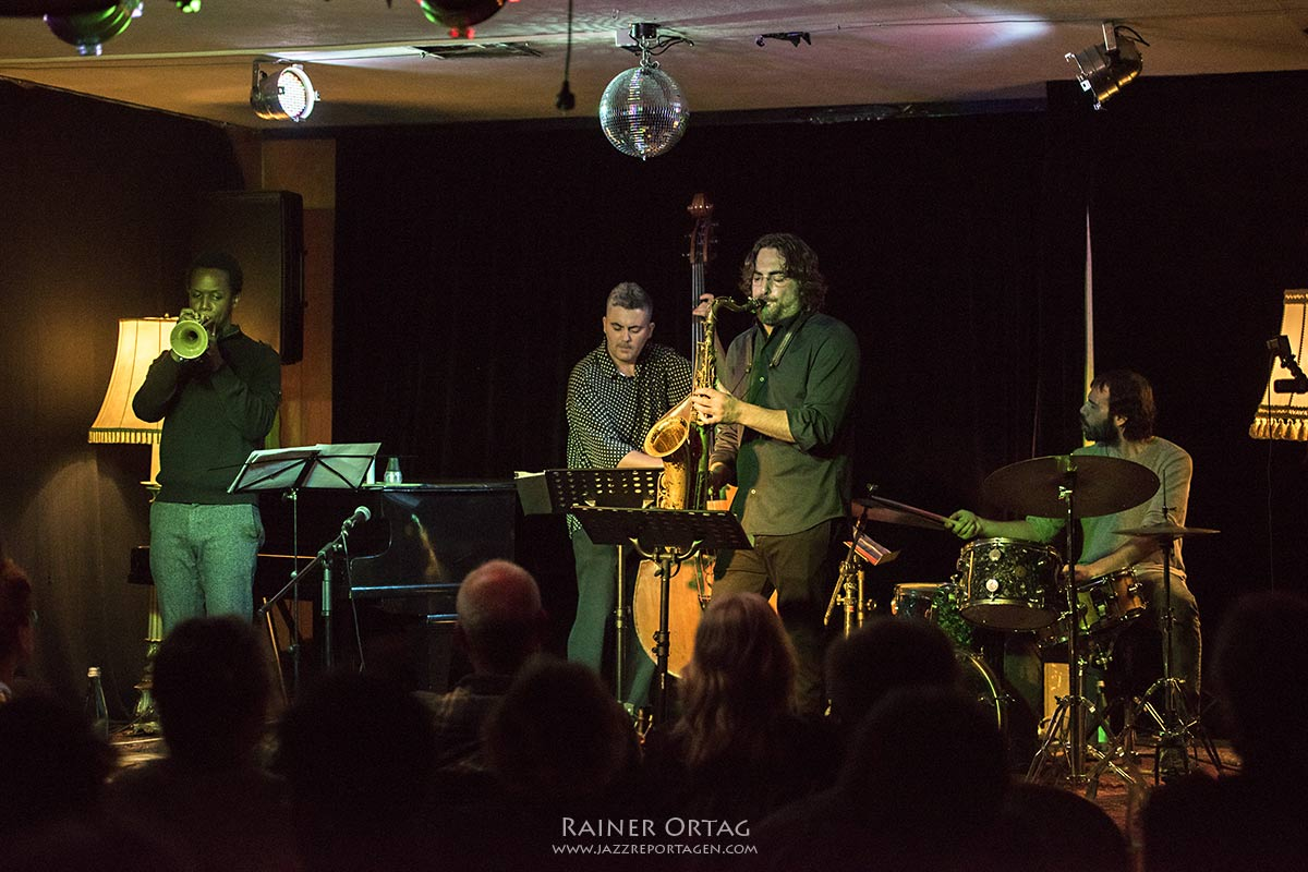 Noah Preminger Quartet im Pappelgarten Reutlingen